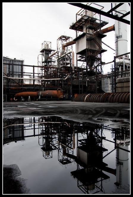 Sevalco Plant Avonmouth Bristol Whatevers Left