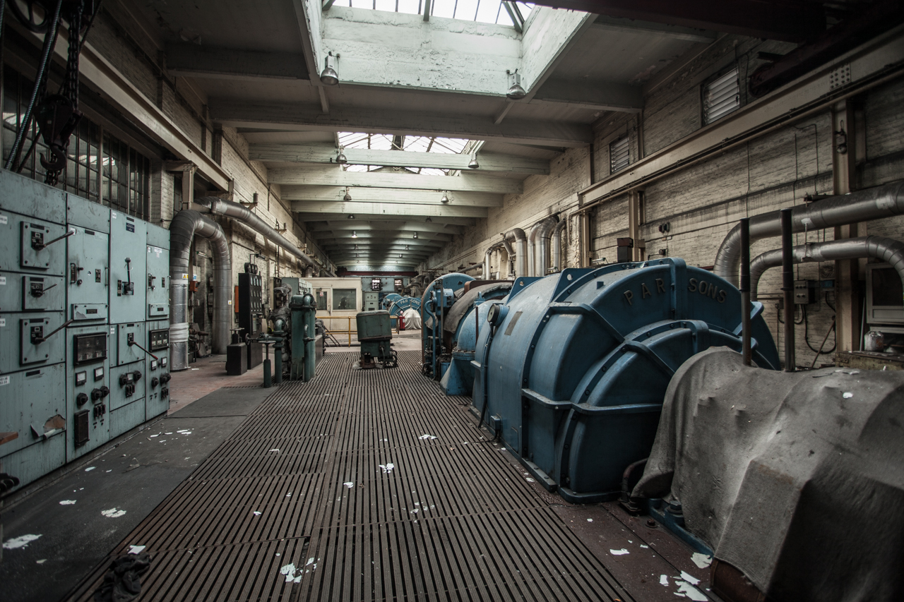 Tullis Russell Power Station, Glenrothes - Whatevers Left